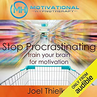 Stop Procrastination Now audiobook cover art