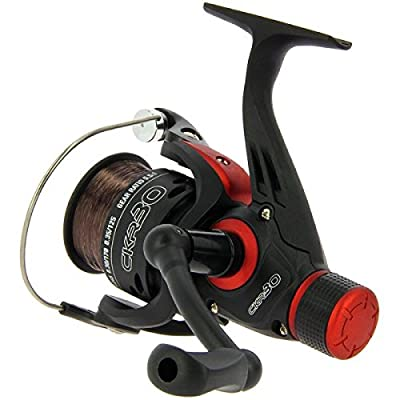 CKR30 Match & Coarse Fishing Reel With Rear Drag Pre Loaded With 8lb Line from Angling Pursuits