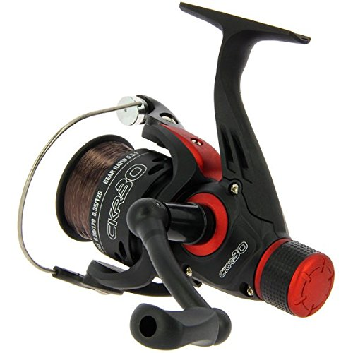 CKR30 Match & Coarse Fishing Reel With Rear Drag Pre Loaded With 8lb L