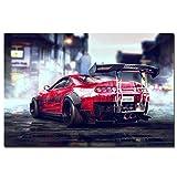 Racing Artwork Toyota Supra Sport Auto Poster wandkunst