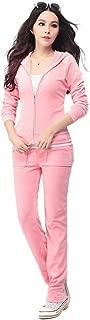 light pink velour tracksuit