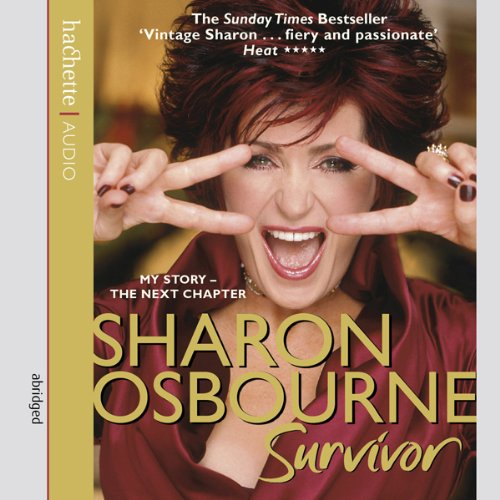 Sharon Osbourne audiobook cover art