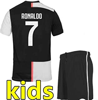 Soccer Juventus Home Ronaldo Kids Kit 2019