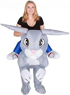 Bodysocks® Disfraz Hinchable de Conejo Adulto