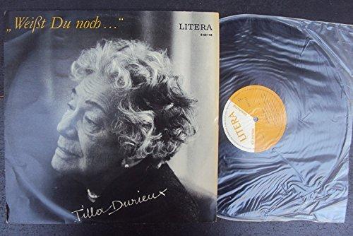 Weißt du noch. Tilla Durieux im Gepräch. Mit Herbert Ihering und Rolf Ludwig. Mono