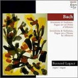 Bernard Lagace Inventionen & Sinfonien,Fuge Other Solo Instrum.