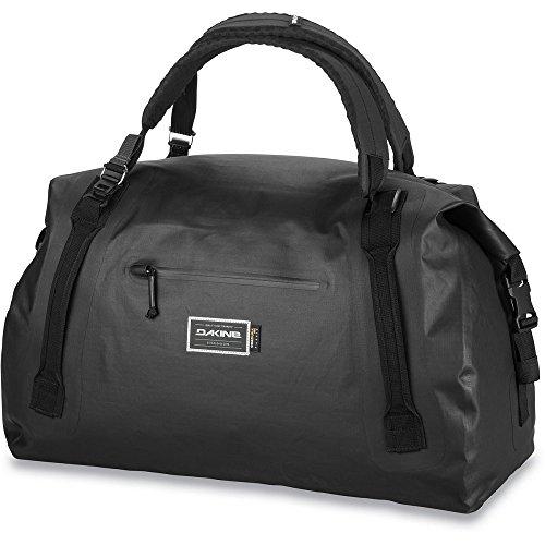 Dakine Cyclone 60L Duffle mit 60 Liter Fassungsvermögen Tasche oder Gepäck Schwarz - Wasserdicht Spritzwassergeschützt