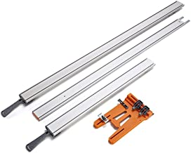"Bora WTX Clamp Edge 4 Pc. Set, 50"" + 24"" Clamp Edges + 50"" Extension + Saw Plate 543410"