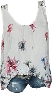 Women Summer Sleeveless Tank Top T-Shirt Tunic Tops Blouse Shirts