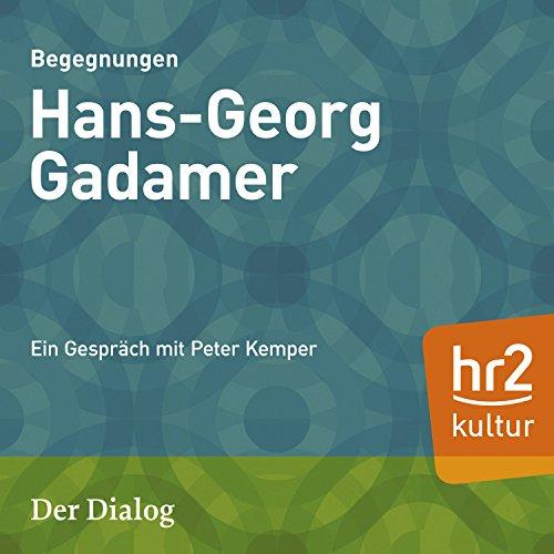 Hans-Georg Gadamer Titelbild