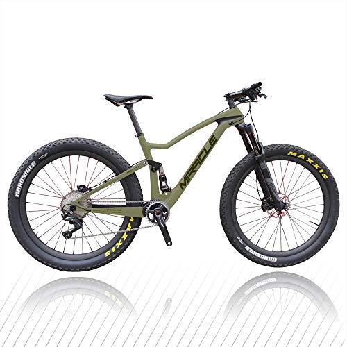 Peipei Alivio Recon_21in - Bicicleta de montaña (fibra de carbono, ultraligera)