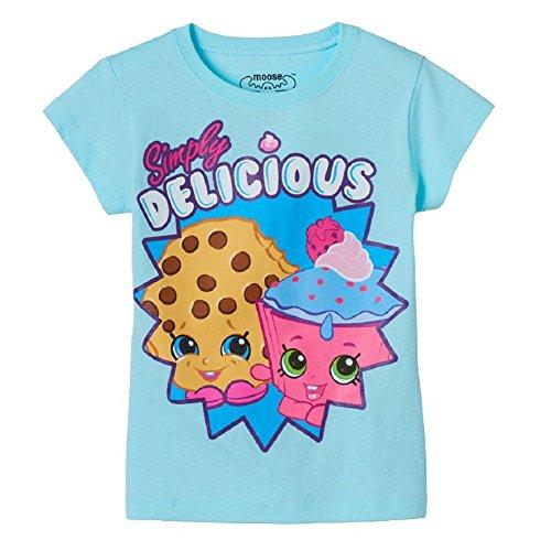 Shopkins Little Girls' Kooky Cookie and Cupcake Chic Tee (4)