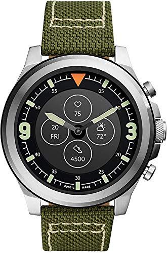 Fossil HR Latitude - Smartwatch ibrido con cinturino Nylo ve