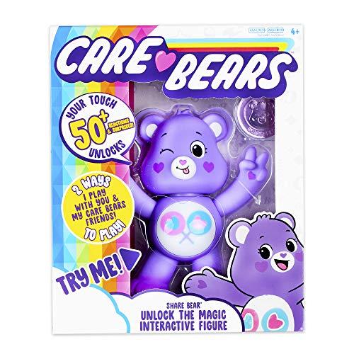 Care Bears Share Bear Interactive Collectible Figure