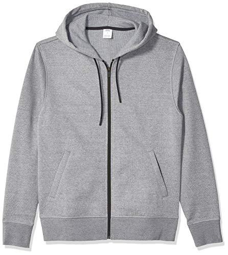 Amazon Essentials Water-Repellent Thermal-Lined Full-Zip Fleece Hoodie Fashion, Gris Brezo, US S (EU S)
