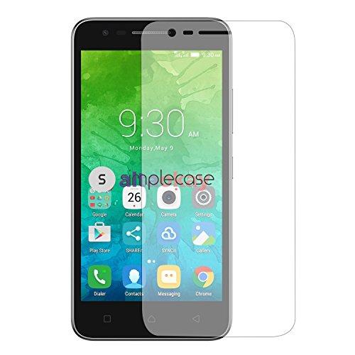 Simplecase Panzerglas passend zu Motorola Vibe C2 , Premium Bildschirmschutz , Schutz durch Extra Festigkeitgrad 9H , Hülle Friendly , Echtglas / Verb&glas / Panzerglasfolie , Transparent - 1 Stück