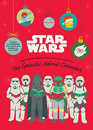 Star Wars: The Galactic Advent Calendar: 25 Days of Surprises With Booklets, Trinkets, and More! (Of