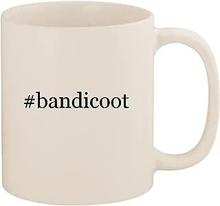 #bandicoot - 11oz Ceramic Coffee Mug Cup, White