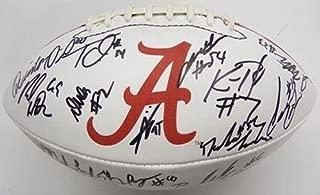 2012 Team Signed Alabama Crimson Tide Football Loa Lacy Bell S73108 - PSA/DNA Certified - 5