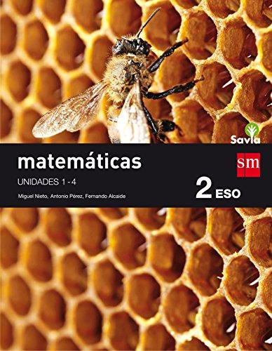 Matemáticas. 2 ESO. Savia. Trimestres - Pack de 3 libros - 9788467586886