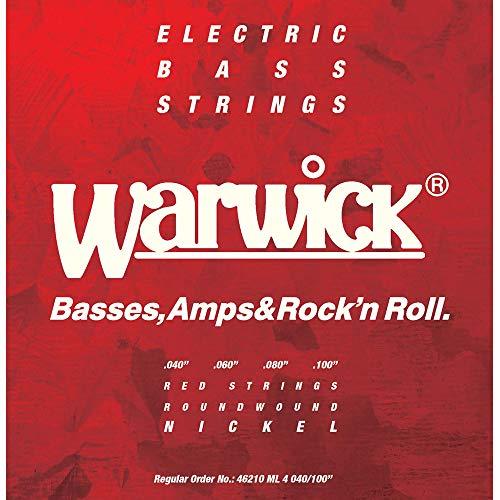 Warwick『Nickel Electric Bass Strings Medium Light(46210)』