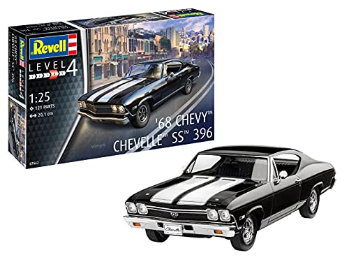 Revell RV07662 1:25-1968 Chevy Chevelle SS 396...