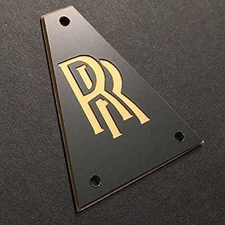 GUITAR TRUSS ROD COVER - Custom Engraved - JACKSON - Randy Rhoads RR BLACK GOLD