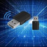 Transmisor y receptor adaptador Bluetooth 2 en 1 USB Bluetooth 5.0 dongle stick adaptador USB Transmisor Bluetooth con pantalla, con cable de audio digital de 3,5 mm para PC TV Auriculares para