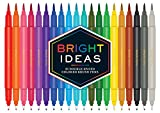 Bright Ideas: 20 Double-Ended Colored Brush Pens: (Dual Brush Pens, Brush Pens for Lettering, Brush Pens with Dual Tips)