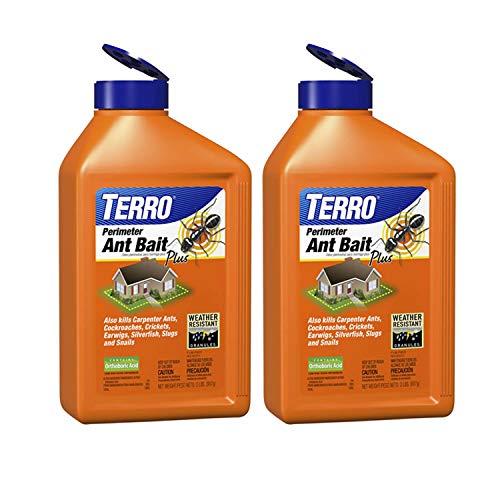 TERRO T2600SR Perimeter Ant Bait Plus-2 Pack, Brown