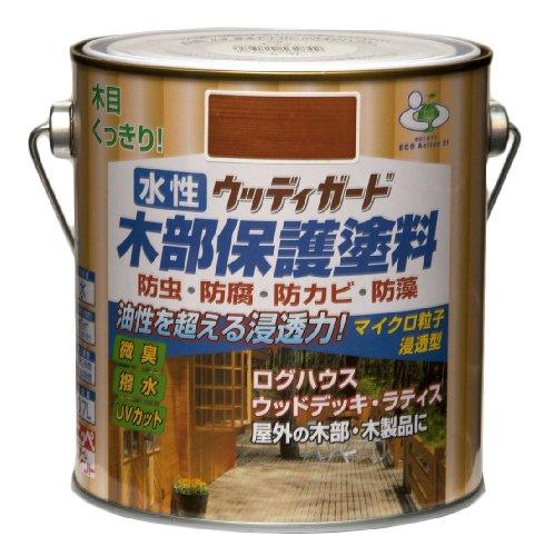 ニッペ 水性ウッディガード0.7L ウォルナット
