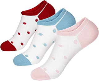 Kewei 6-pair No show Low Cut Cotton Socks