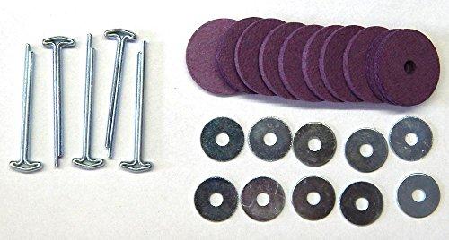 Teddygelenk - Satz mit Pappscheiben 20 mm - Teddy Gelenk, bärenmachen