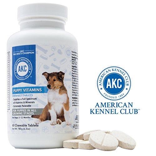 AKC Puppy Vitamins