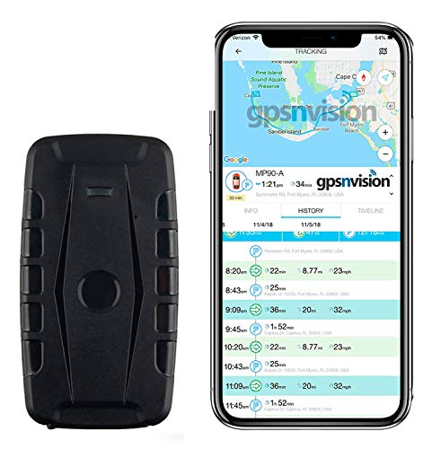 Hidden Magnetic GPS Tracking Device - Car GPS Tracker - Amazing 2 Month Battery-Includes Magnet