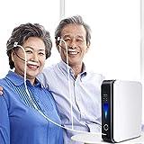 RCHL Mini Concentrador de Oxígeno Portátil Oxígeno concentración 40% Caudal 1L Silencioso Medidas purificador de Aire para Hogar, Viaje, automóvil por Cuidado en el hogar