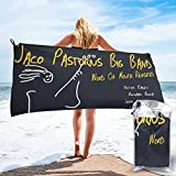 XINPO Jaco Pastorius toallas de baño suaves impresas toalla de playa de secado rápido portátil toalla de viaje de gran tamaño 27.5 pulgadas x 55 pulgadas