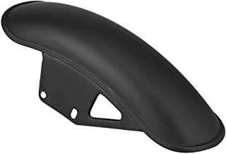 Durable Motorcycle Front Fender Mud Flap Guard Fairing Mudguard Cover for Suzuki GN125 GN250(Black)