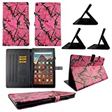 wirlesspulse TPU Shell Case for Lenovo Tab M8 HD (TB-8505F/TB-8505X) Camo Mozy Slim PU Leather Folding Stand Cover with Auto Wake/Sleep for 8.0 inch
