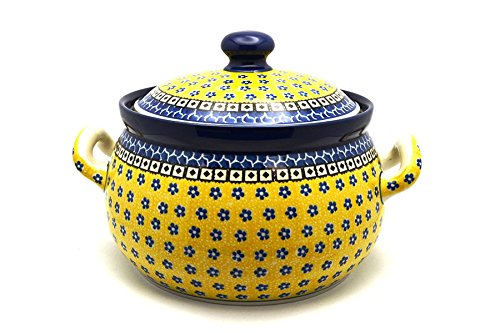 Polish Pottery Covered Tureen (without ladle slot) - Sunburst