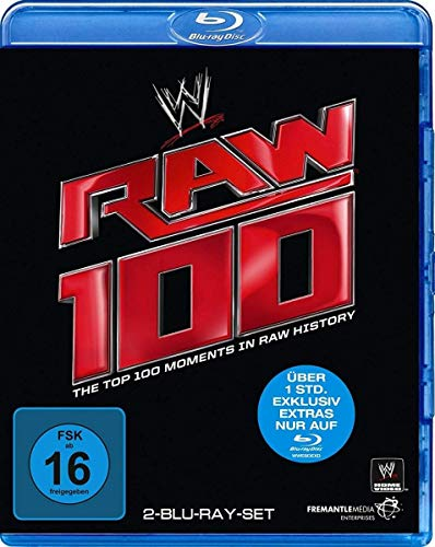 Top 100 Raw Moments [Blu-ray]