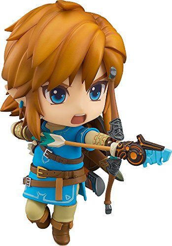 Good Smile CompanyLink Figura 10 cm Zelda Breath of The Wild Nendoroid