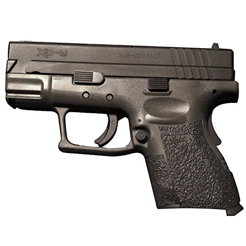 TALON Grips for Springfield Armory XD Sub Compact 9mm/.40, Black Rubber