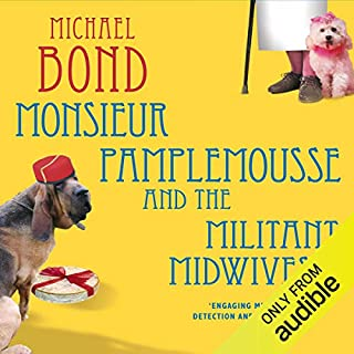 Monsieur Pamplemousse and the Militant Midwives audiobook cover art