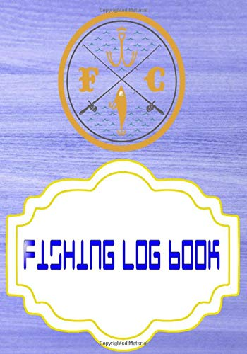 Fishing Fishing Logbook: Fishing Logbook Is A Hassle The Anglr Bullseye 110 Pages Size 7x10 INCH Cover Glossy | Journal - Saltwater # Blank Standard Print.