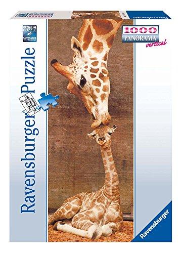 Ravensburger Puzzle, Puzzles 1000 Piezas, Jirafas, Animal Puzzle, Puzzles para Adultos, Puzzle Panorama, Puzzle Ravensburger