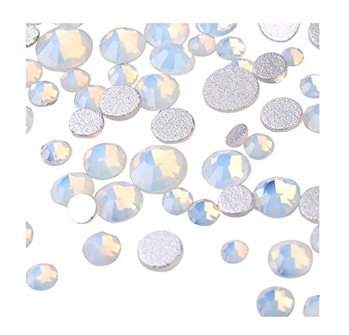 YUYOUG Mode DIY Bijoux 3D Strass Cristal Ongle Manucure Nail Art Glitter (F)