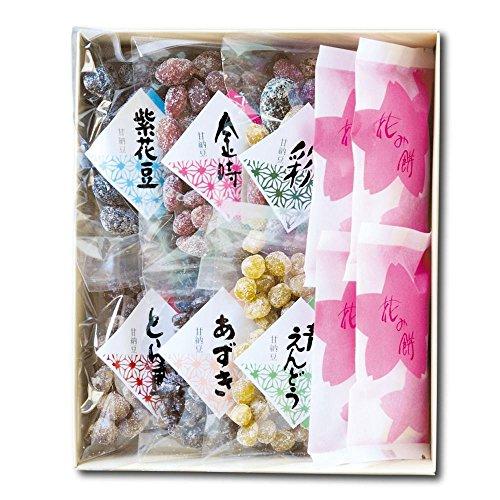 はこだて甘納豆石黒商店『花み餅と甘納豆』