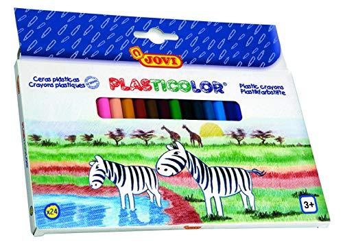Jovi - Plasticolor, estuche con 24 surtidas (926)
