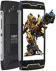 Smartphone Impermeable, CUBOT King Kong CS IP68 Móvil Libre Impermeable 4400mAh 3G Smartphone 5.0 Pulgadas Android 10.0 Dual SIM Quad-Core 13,0MP Cámara 2GB+16GB, Black